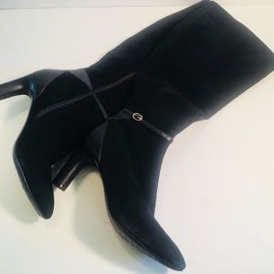 Cole Haan Suede / leather boots